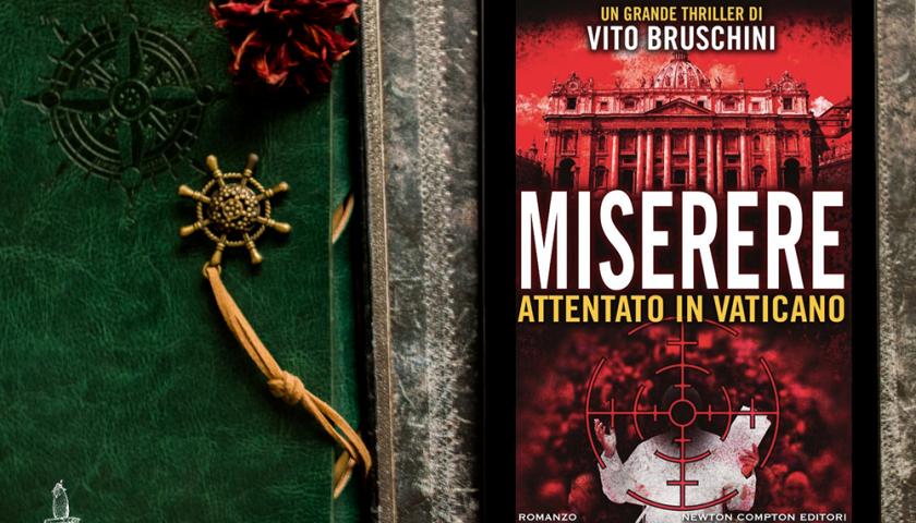 """Atrani, Natale d'Autore: a """"Stelle Divine"""" Vito Bruschini racconta il secondo attentato a Papa Wojtyla nel suo libro """"Miserere"""""""