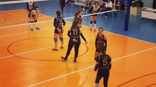 Derby amaro per la Salerno Guiscards che cade sul campo dell'Asd Cava Volley
