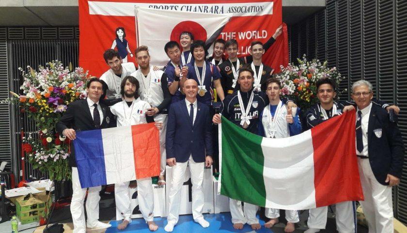 La Nazionale Italiana di Sports Chanbara mostra tutto il suo valore nella terra del Sol Levante