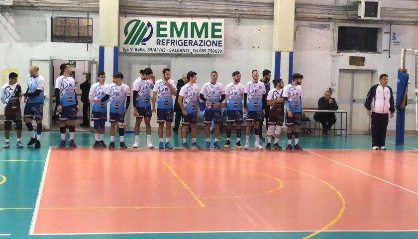 Nulla da fare per l'Indomita Salerno, sconfitta contro Volley Word Napoli