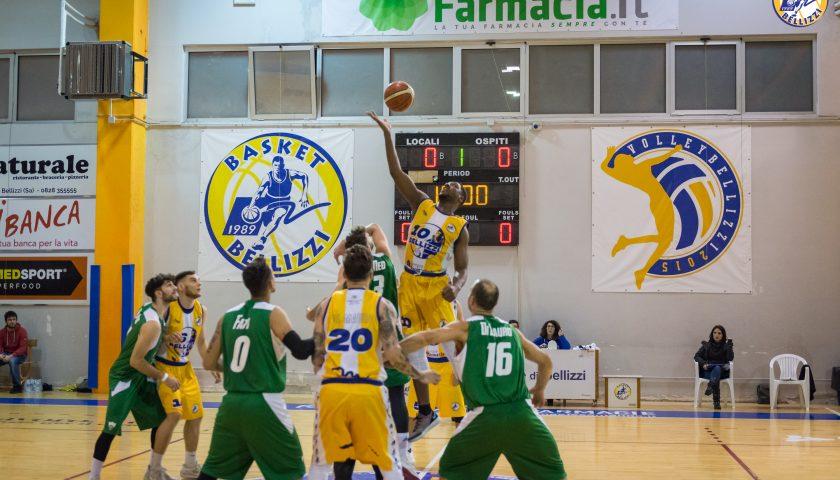 Basket Bellizzi batte Irpinia e conquista la quinta vittoria consecutiva