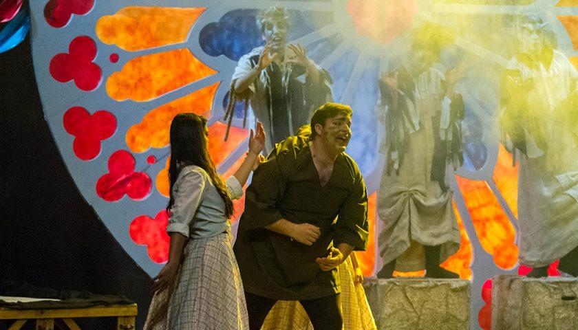 """A teatro con Meggy: in scena al Teatro Nuovo """"Il miracolo di Notre Dame"""" per l'AIL Salerno"""