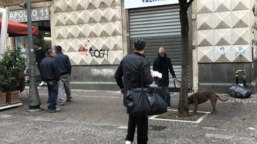 Salerno: lotta a venditori di calzini e parcheggiatori abusivi, il report