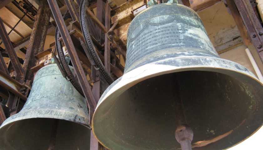 Sarno: rubata la campana della chiesa