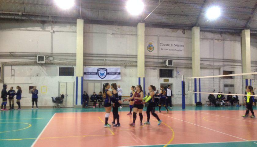 Salerno Guiscards, il team volley ottiene la prima vittoria in Coppa battendo l'Asd Primavera al tie break