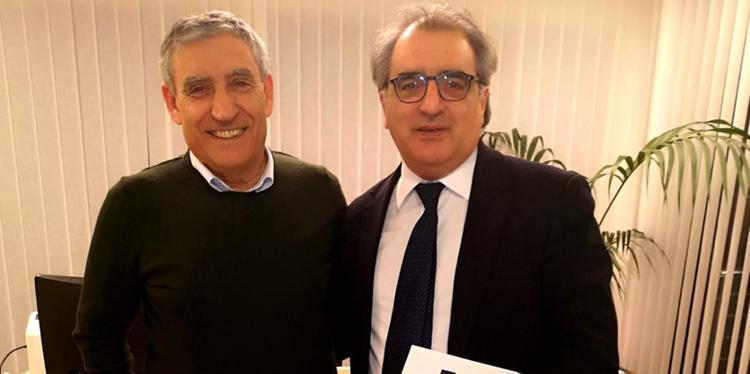 Bcc Aquara, il digì Marino incontra l'onorevole Casciello