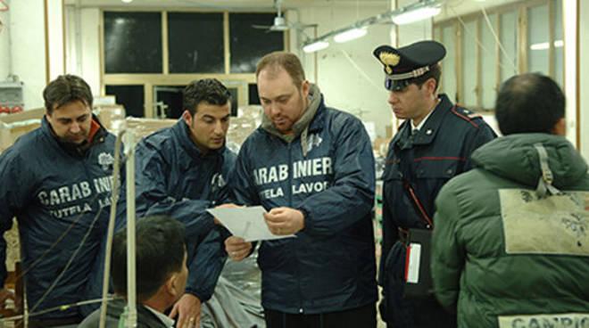Vibonati: controlli dei Carabinieri contro il lavoro nero, due imprenditori deferiti