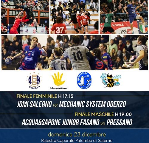 Focus Supercoppa: Jomi Salerno ed Mechanic System Oderzo a confronto