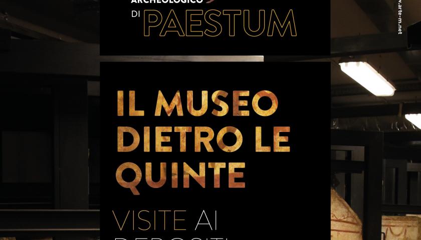 Paestum senza veli: depositi visitabili tutti i giorni