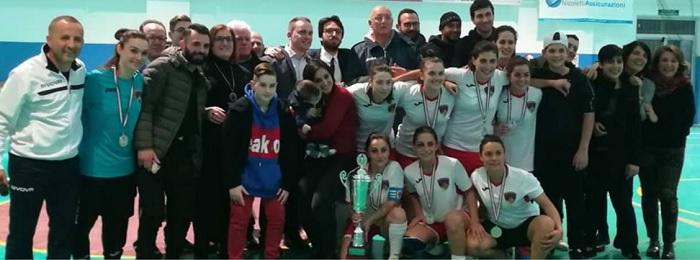 Gioia Fenix Santa Maria, vinta la Coppa Campania