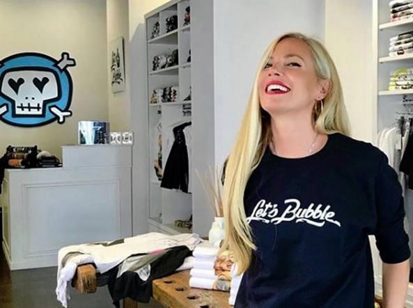 Federica Panicucci imprenditrice di moda con il marchio Let's Bubble: «Abbiamo 400 richieste per aprire i nostri negozi»