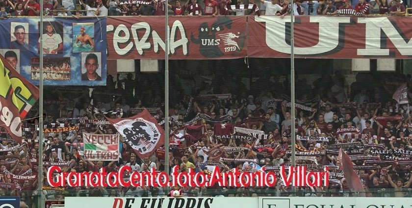 Salernitana – Foggia, da lunedì 17 in vendita i biglietti