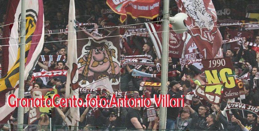 Salernitana – Benevento: identificati e denunciati dalla Polizia quattro tifosi granata autori di comportamenti violenti allo stadio Arechi