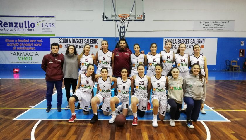 Todis Salerno Basket '92, sorriso in Coppa Campania: Sorrento battuto, ora la sosta