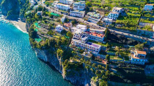 Amalfi, al via l'ammodernamento della condotta lungo la statale amalfitana