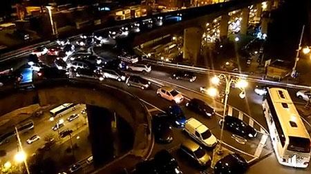 Salerno: caos sul viadotto Gatto, domenica infernale