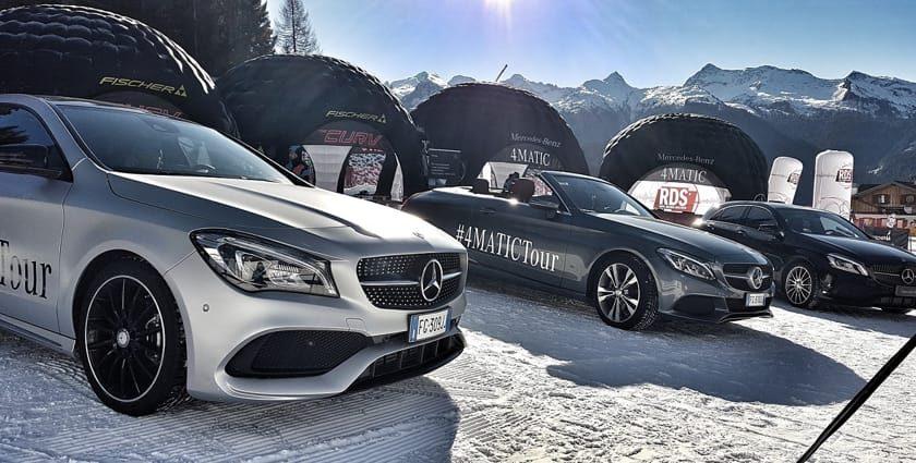 Motori, il 4Matic tour Mercedes-Benz torna al Terminillo