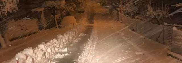 Emergenza neve: bufera nella notte e scuole chiuse nel Vallo di Diano