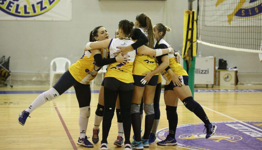 Volley Bellizzi, netta vittoria contro Paestum. Coach Meneghetti: «Vittoria agevole. Ad Ischia sarà una gara difficile»