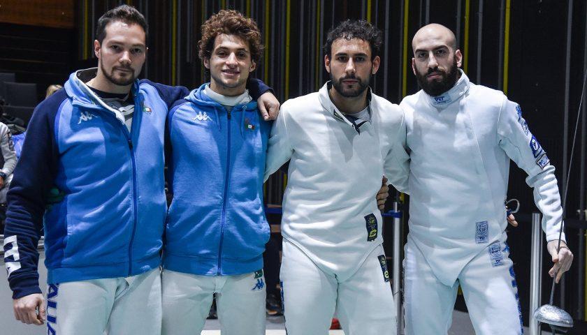 Coppa del Mondo/ Spada Maschile: 3° posto per Valerio Cuomo con l'Italia nella gara a squadre