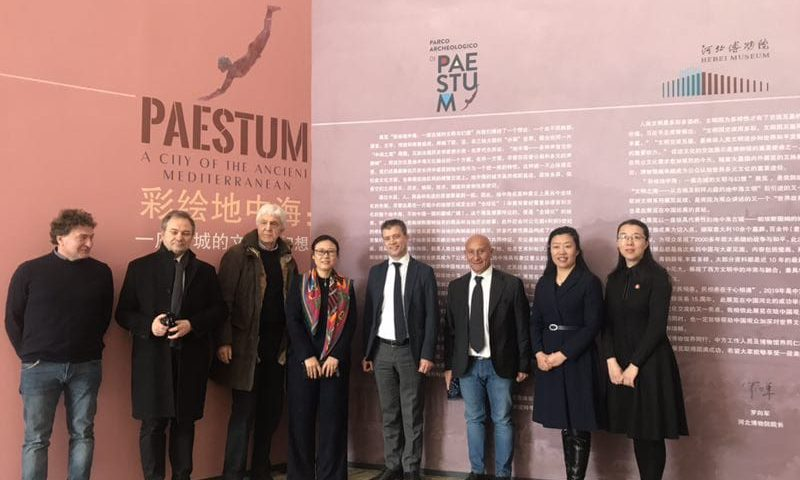 """Paestum conquista la Cina: inaugurata la prima tappa della mostra """"Paestum: una città del Mediterraneo antico"""""""