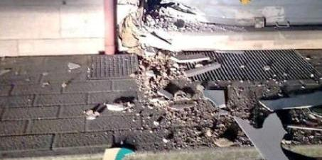 Esplosione nella notte a Fisciano, danni a bar e condominio