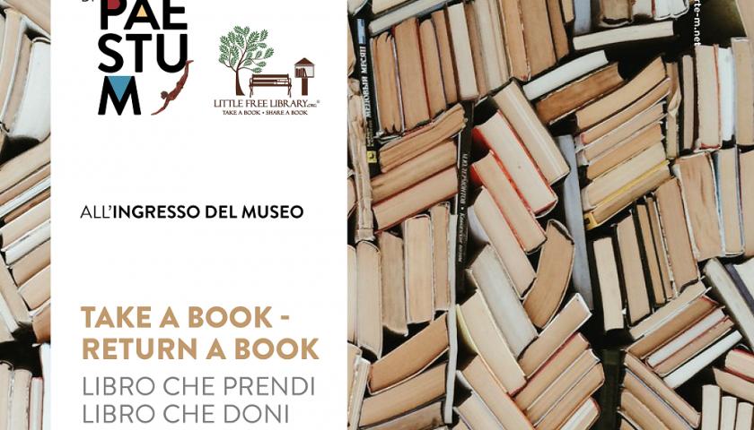 Paestum, il primo museo statale con una Little Free Library