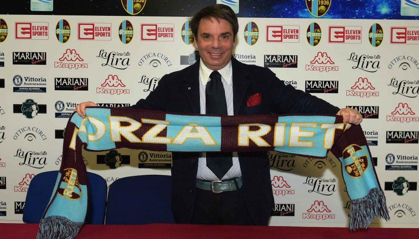 """Il tecnico salernitano Ezio Capuano si presenta: """"Rieti, sangue e sudore per questa maglia"""""""