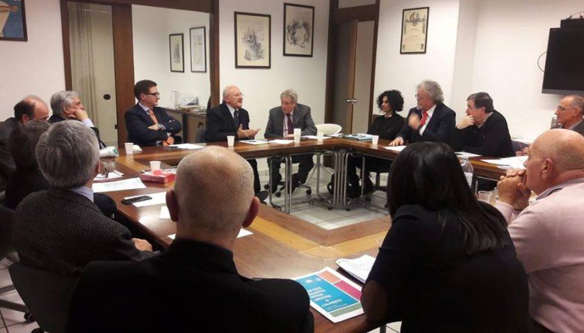 De Luca incontra i vertici del Coordinamento dell'Ordine dei Medici Chirurghi e degli Odontoiatri delle cinque province campane