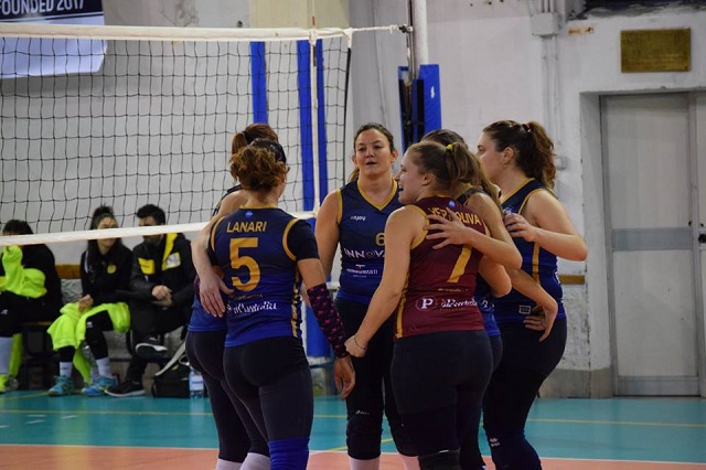 Polisportiva Salerno Guiscards, il team volley domani di scena sul campo dell'Ottavima