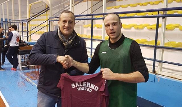 Colpo di mercato della Fasano Gomme 2 Hippo Basket Salerno: ingaggiato Vincenzo Di Lauro