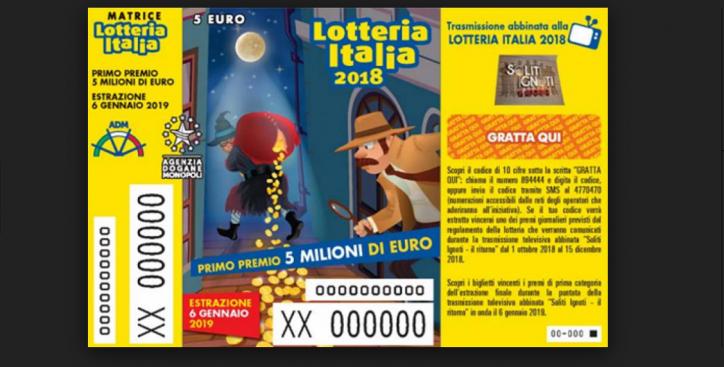 Lotteria Italia, la fortuna bacia Salerno: venduto a Sala Consilina il biglietto che vince il primo premio da 5 milioni di euro