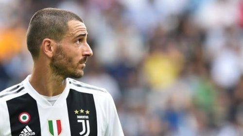 Atletico Madrid – Juventus, Bonucci deriso e criticato per il suo gesto