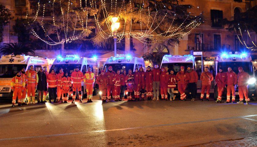 I volontari della Croce Rossa Italiana di Salerno in prima linea per il Capodanno in piazza