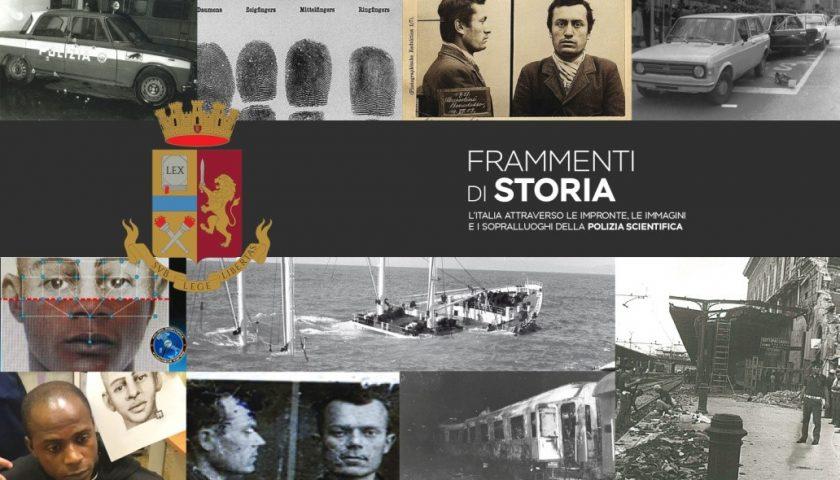 """""""Frammenti di storia. L'Italia attraverso le impronte, le immagini e i sopralluoghi della Polizia Scientifica"""" al Tempio di Pomona nel weekend"""