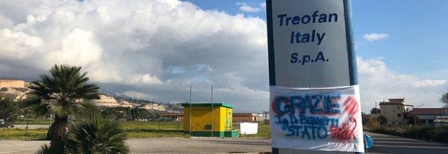 Treofan, la solidarietà del prefetto Russo