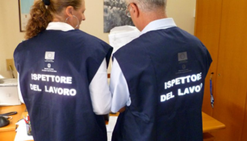 Blitz dell'Ispettorato del Lavoro di Salerno: trovate 11 persone in nero in impresa turistica