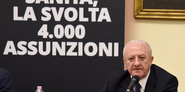 Sanità in Campania, bocciatura sui livelli di assistenza