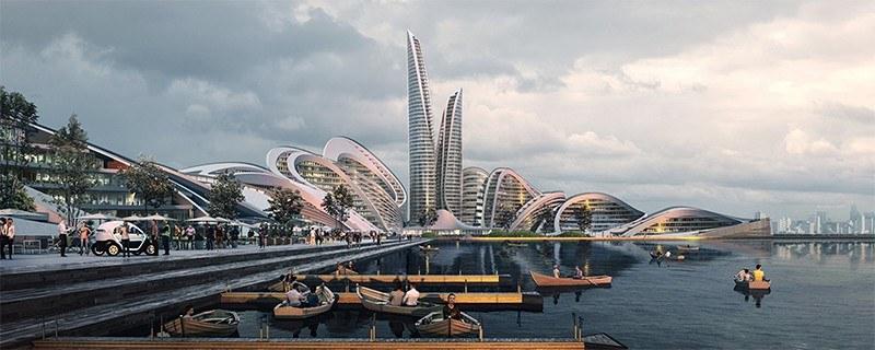 """Vicino Mosca si costruisce la prima """"città felice"""", attenta alla tecnologia ma anche alle persone"""