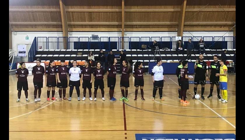Salernitana femminile, goleada casalinga contro la Woman Futsal Club