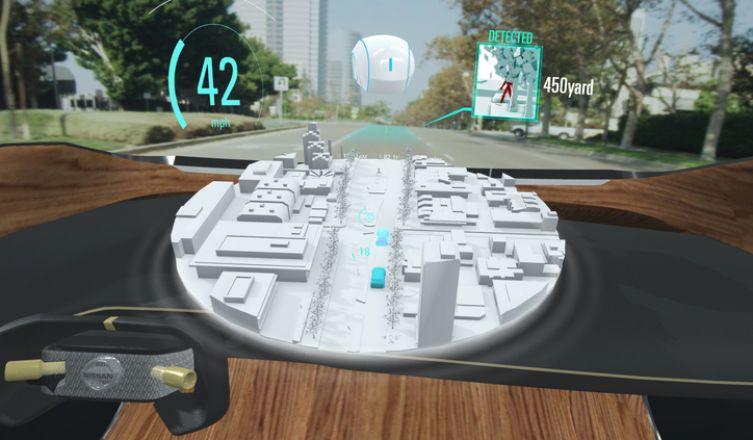 Nissan rende visibile l'invisibile: svelata al CES una incredibile tecnologia