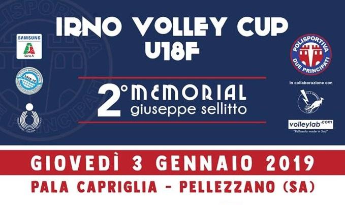 """P2P Baronissi, tutto pronto per la """"Irno Volley Cup U18F """""""