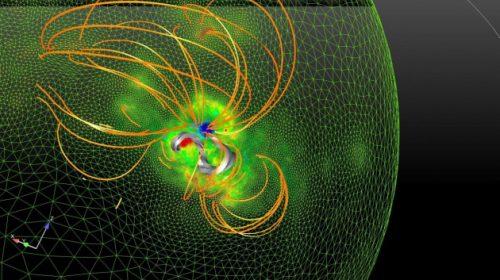 Il primo simulatore di eruzioni solari