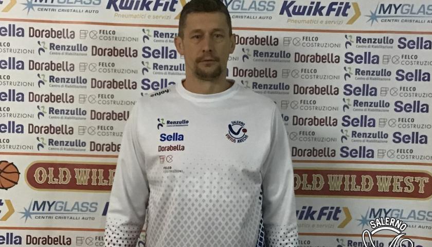 Colpo Virtus Arechi Salerno, ingaggiato il serbo Njegos Visnjic