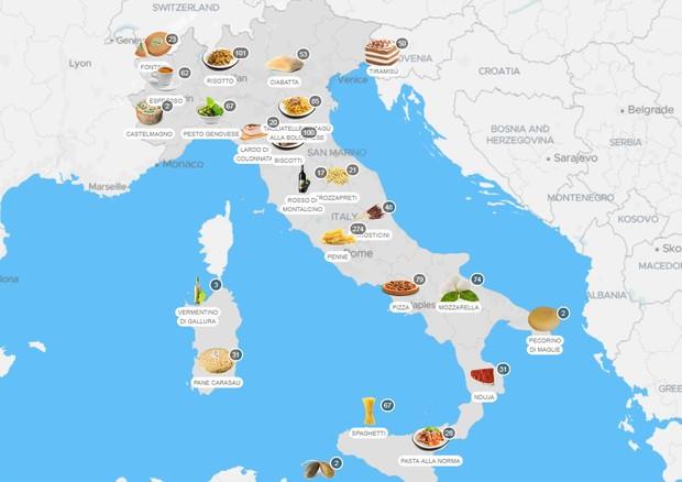 Tasteatlas, l'atlante online del cibo debutta nelle scuole