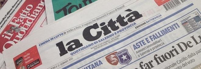 «La Città», sciolta la società editoriale: stop a tutti i rapporti di lavoro
