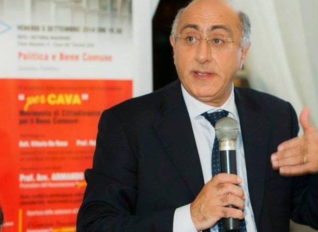 Cava de' Tirreni, la giunta Servalli ha un nuovo vicesindaco: è il professor Armando Lamberti