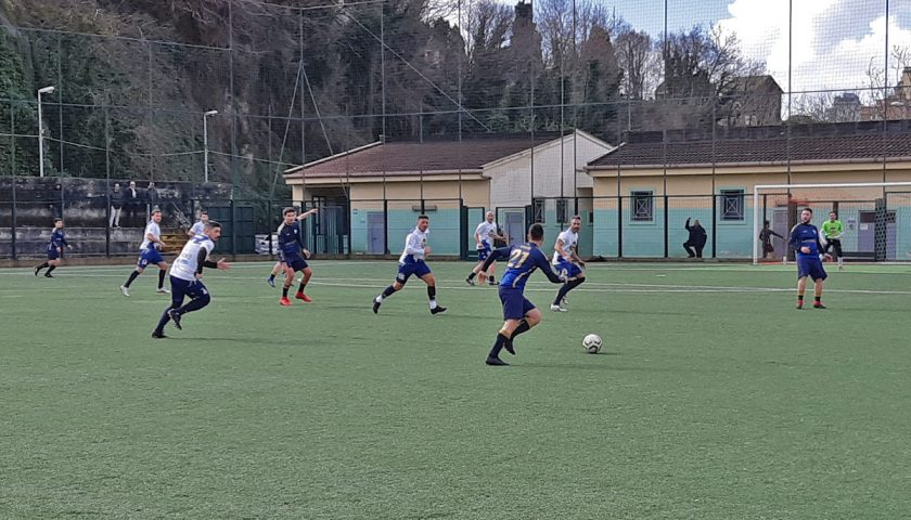 Salerno Guiscards, il team calcio lancia l'assalto al sesto posto in classifica