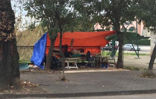 Demolita baracca abusiva in Viale Settembrini