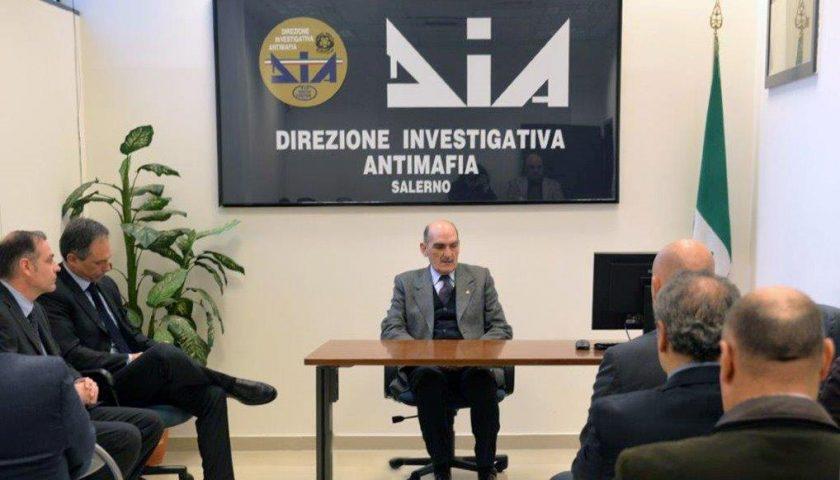 Direzione Investigativa Antimafia: visita a Salerno del direttore Gen. Giuseppe Governale